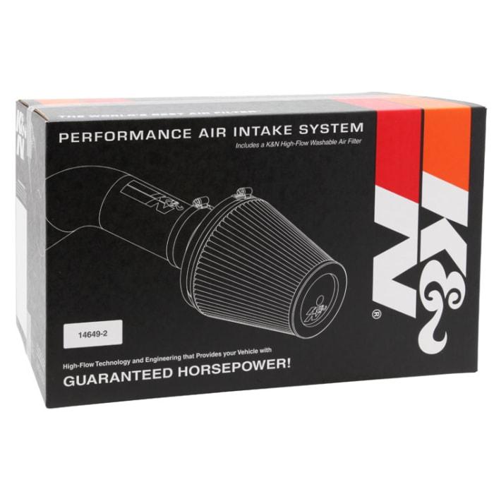 K/&N 57-2523-2 FIPK Performance Air Intake System K/&N Engineering