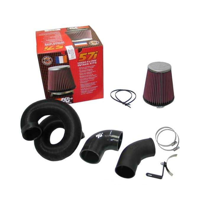K/&N Filters RC-5159 Universal Chrome Hi-Flow Air Intake Filter