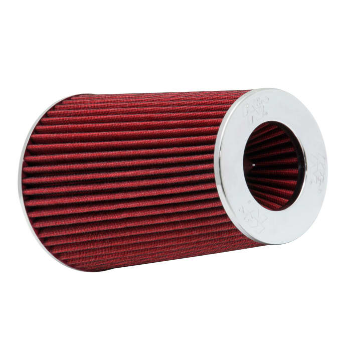 """UNIVERSAL 3"""" 76mm AIR INTAKE RACING Clamp-On Washable FILTER Tapered Cone RED"""