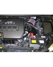 Black K/&N 69-8757TTK Washable and Reusable Car Performance Intake Kit
