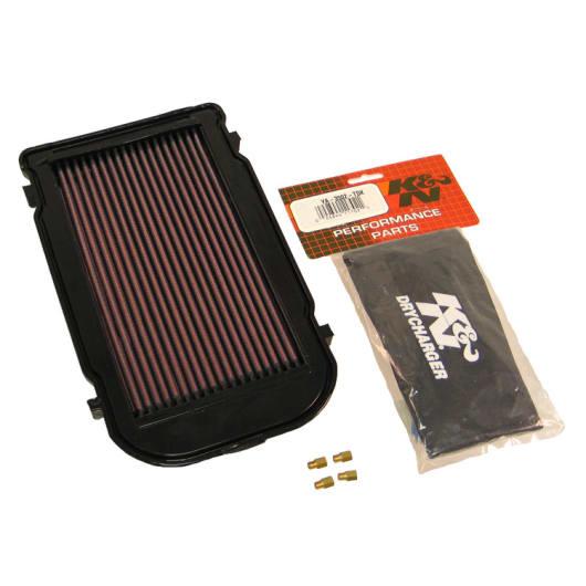 ya-3502-t K /& N Powerlid Airbox cover Fits Yamaha YFZ350/Banshee 87/ /06/ filtri aria Powersports
