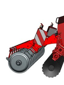 Kverneland DTX operating on low power requirements and long durability on field