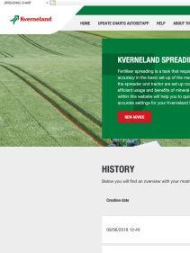 Kverneland Exacta CL, spreader for medium segment