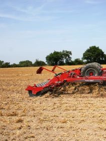 Kverneland Turbo ploughing nearly all year