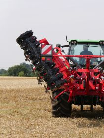Kverneland Enduro, performing powerful and efficient on field