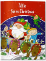 Your child saves Christmas book - Labels4Kids