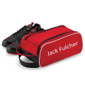 Red personalised boot bag by Labels4Kids
