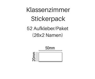 Klassenzimmer-Stickerpack