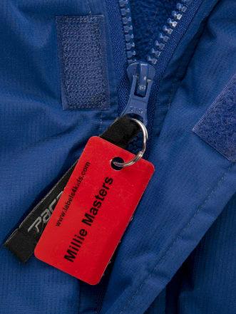 Namensanhänger für Jacken