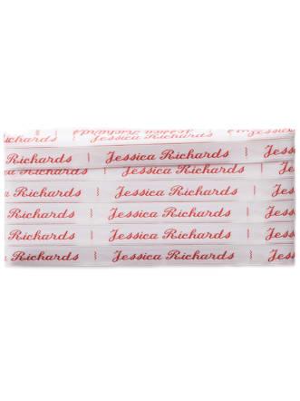 Étiquettes Thermocollantes Tissées