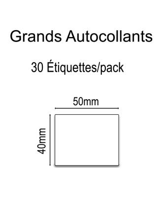 Grands Autocollants