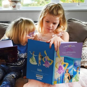 Personalised Disney Princesses Book - Tales of Friendship