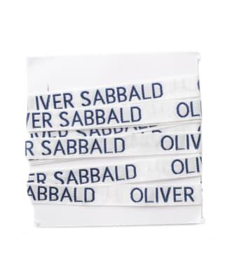 Étiquettes à Coudre 12mm