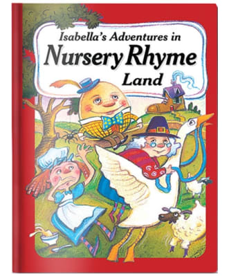 Personalised Nursery Rhyme Land Book
