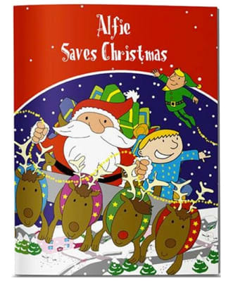 Personalised Your Child Saves Christmas