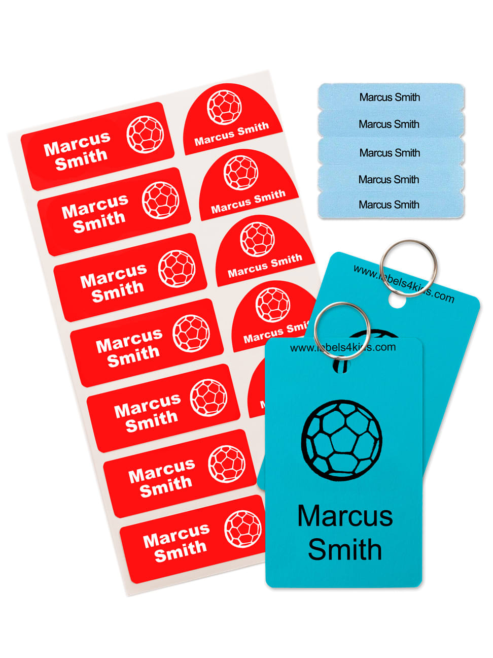 Iron On Labels pack