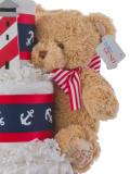 Gund Plush Tan Bear Baby Toy