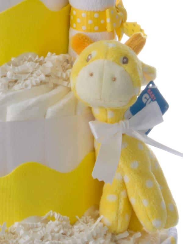 My Lil Giraffe Diaper Cake
