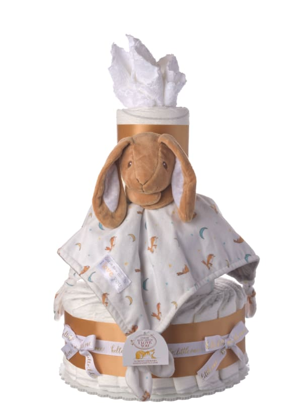 Guess How Much I Love You Diaper Cake and Book