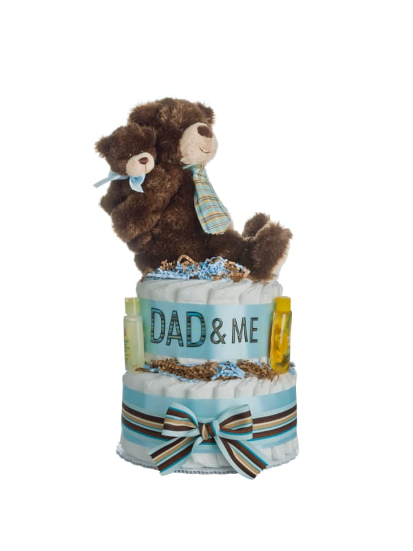 Lil Baby Cakes Dad & Me Diaper Cake