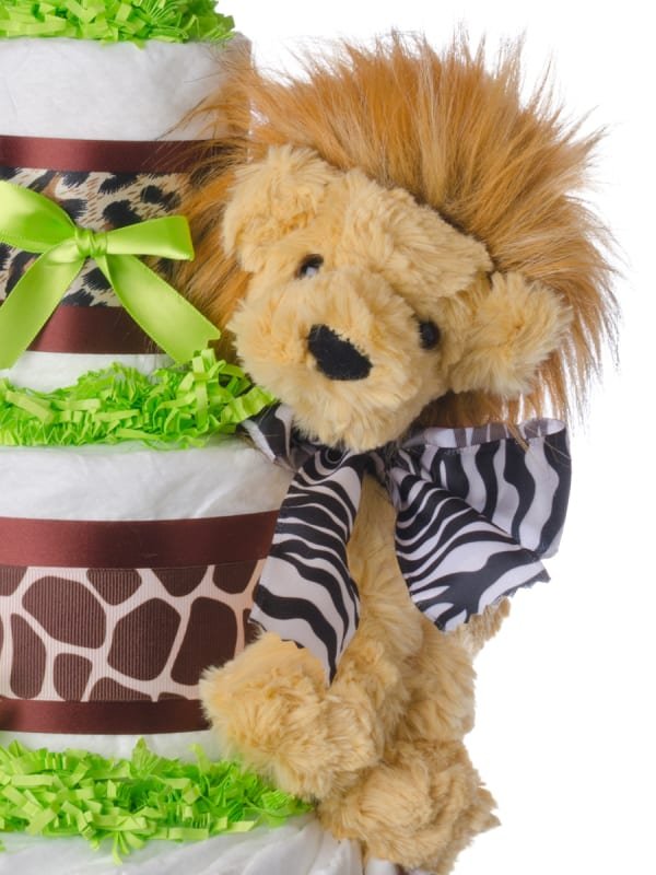 Safari 3 Tier Diaper Cake