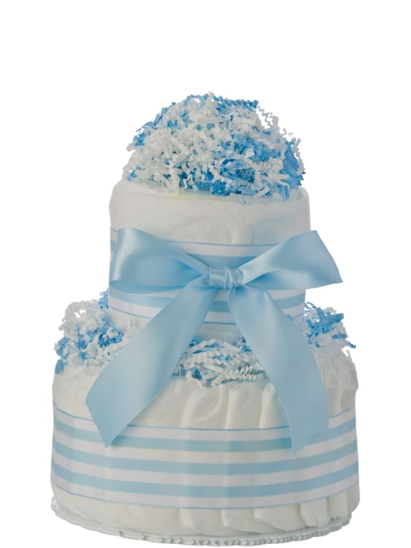 Mini Tickled Blue Diaper Cake