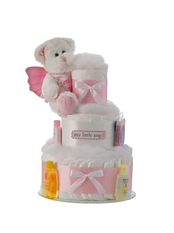 My Little Angel 3 Tier Diaper Cake