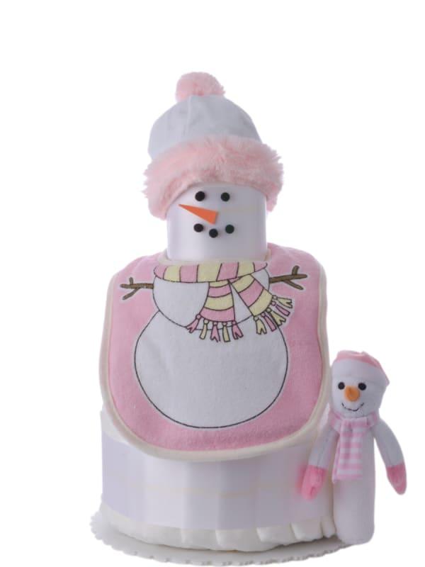 My Snowgirl 3 Tier Baby Diaper Cake