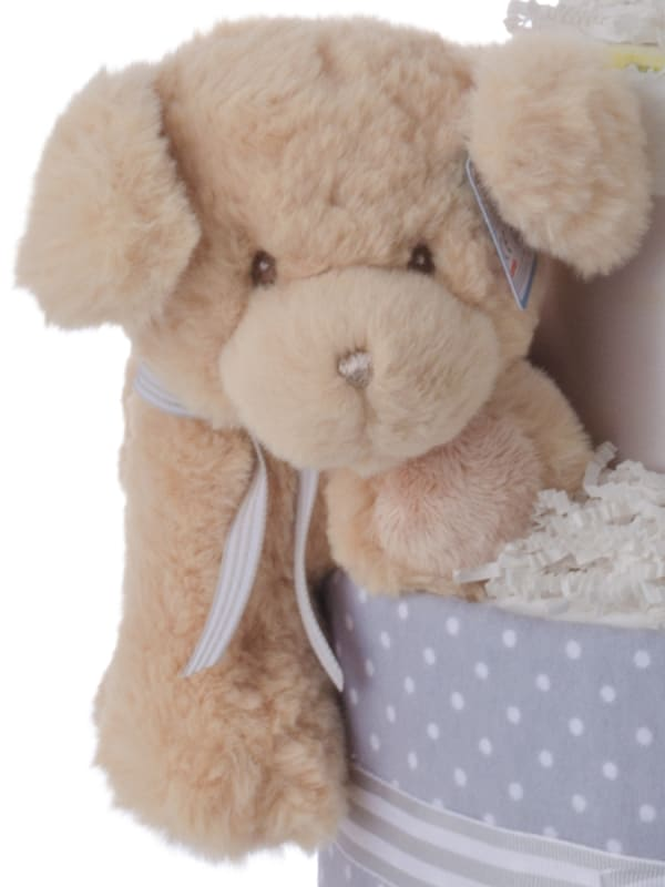 Love at First Sight Baby Diaper Cake