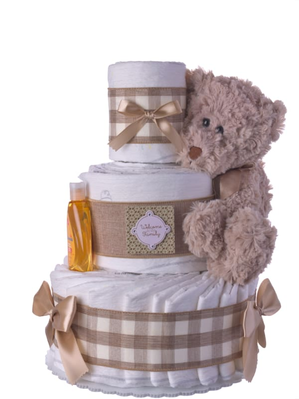 Welcome to the Family Diaper Cake