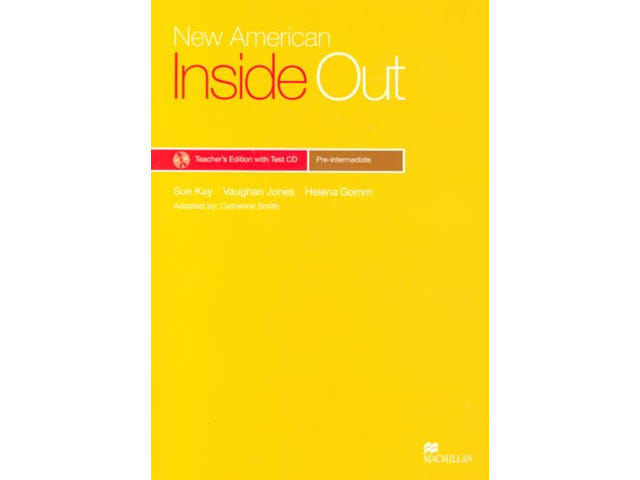 New American Inside Out Pre-IntTB+TestCD