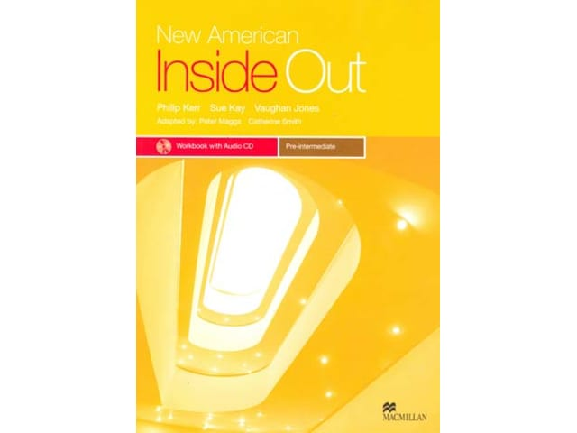 New American Inside Out Pre-Intermediate StudentWorkbook + CD