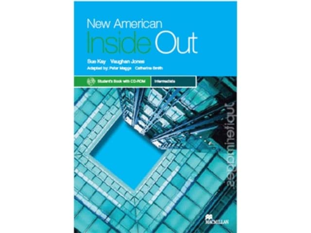 New American Inside Out Intermediate Student Book + CD