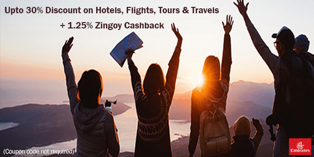 Emirates   upto 30  off on travel deals jxboo3