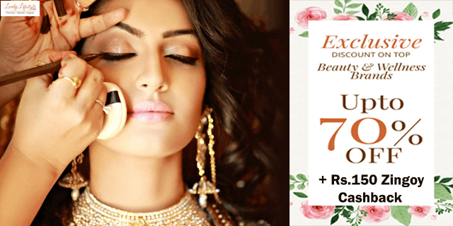 Lovely lifestyle   upto 70  off on beauty products yv2qhe