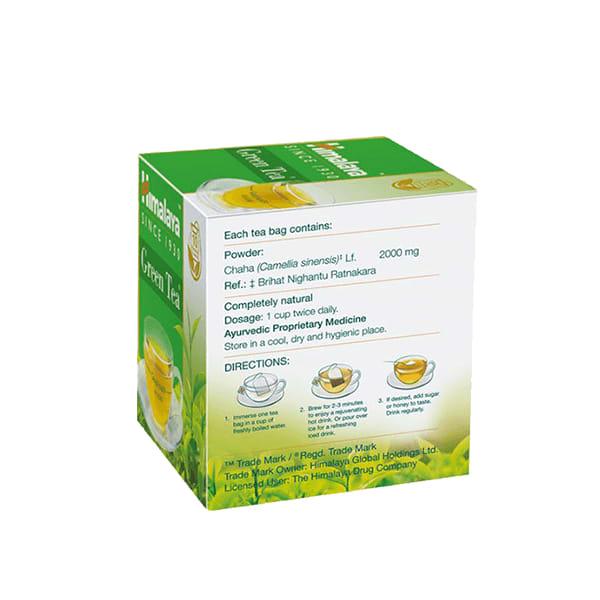 Himalaya Wellness Tea – Green, 60 Tea Bags 2 gm Each