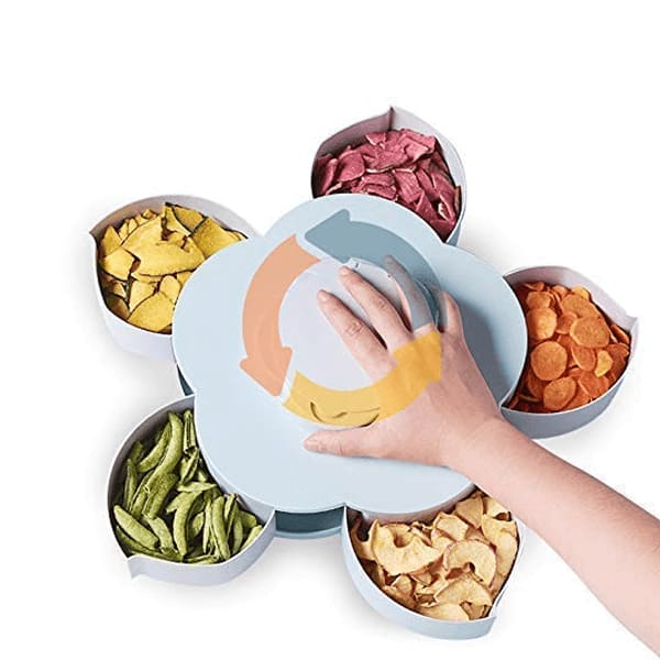 Smart Rotating Multi Purpose Storage Box for Home and Kitchen