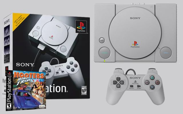 Sony Refuses To Answer Why The PS1 Classic Comes Pre-Loaded With Twenty Copies Of Hooters Road Trip