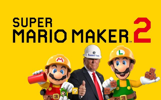 "Super Mario Maker 2 Cancelled After Controversial ""Make Mario Great Again"" Ad Campaign Backfires"