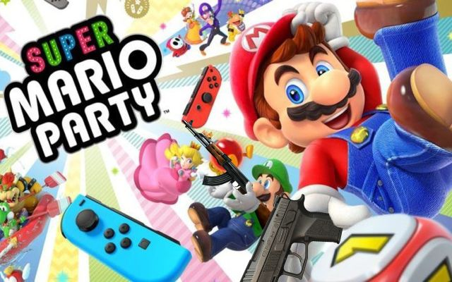Super Mario Party For Switch Will Come With A Loaded Handgun