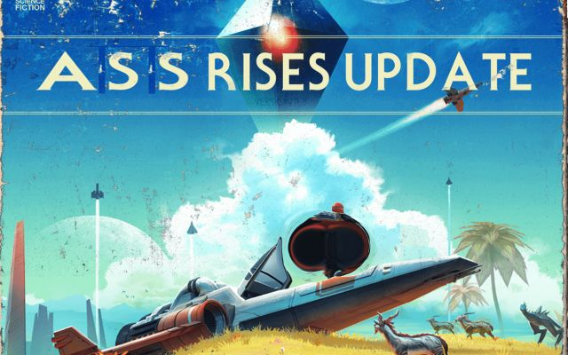 No Man's Sky Finally Gets Long-Awaited Buttocks Expansion In Latest Update