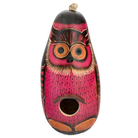 CGH158M Color Owl - Birdhouse