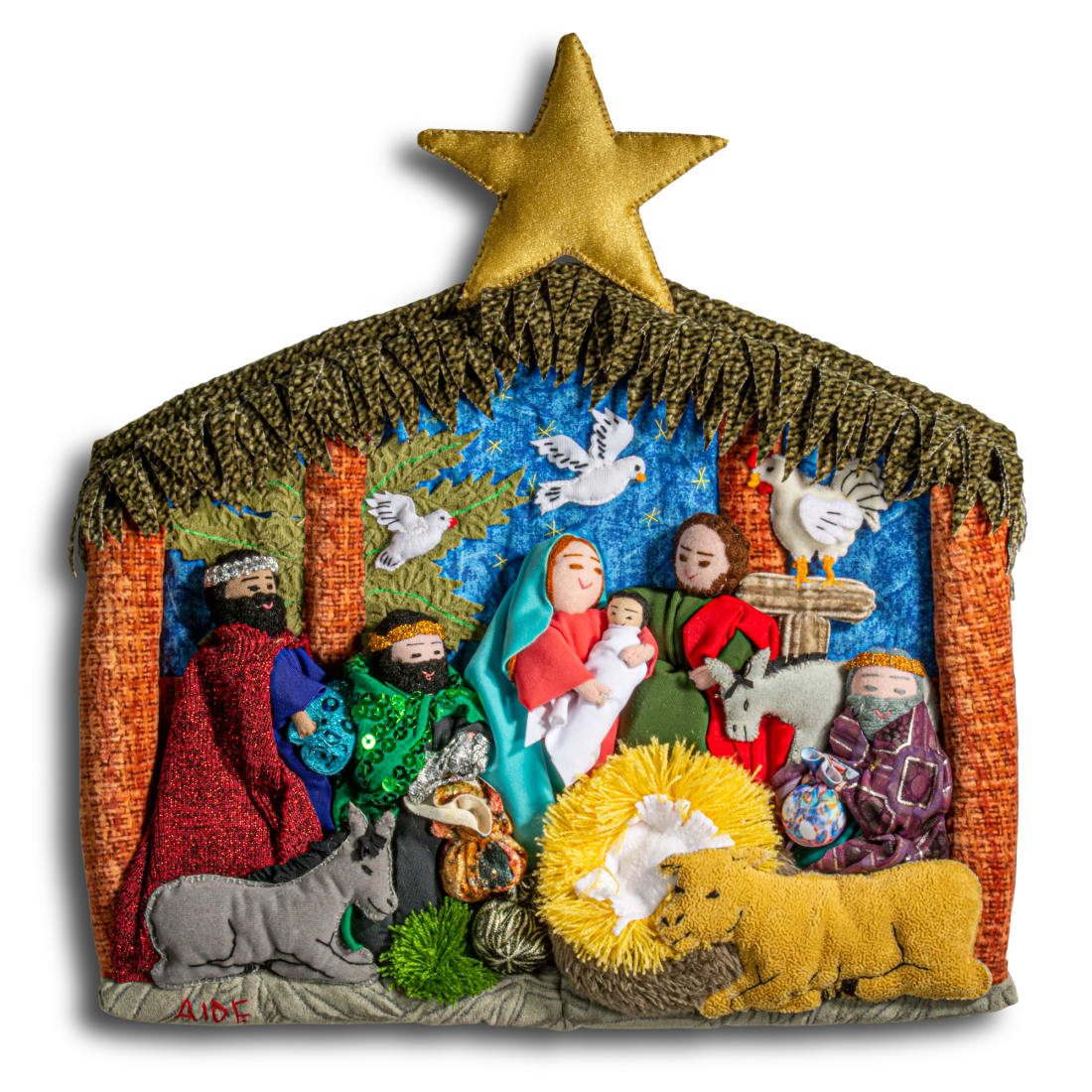 Nativity Wall Creche