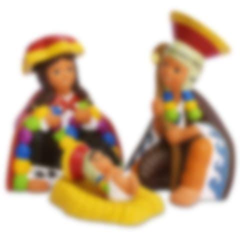 Cuzco Holy Family