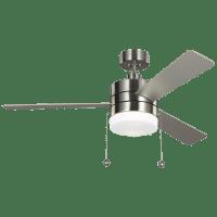 Syrus 52 LED -  Brushed Steel