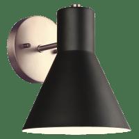 Towner One Light Wall / Bath Sconce Satin Brass Bulbs Inc