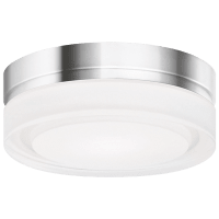 Cirque Small Flush Mount Small Chrome 2700K 90 CRI led 90 cri 2700k 120v