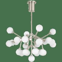 Mara Chandelier White Satin Nickel 2700K 90  CRI LED 90 cri 2700k 120v