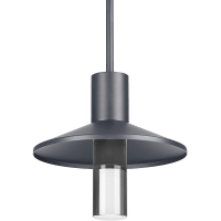 Ash 12 Outdoor Pendant Cylinder Charcoal 2700K 90 CRI 2700K Low Output