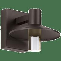 Ash 8 Outdoor Wall Bronze Cylinder 2700K 90 CRI 2700K Low Output